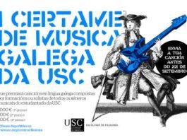Filoloxía da USC convoca un certame musical para fomentar a escrita de pezas en galego.